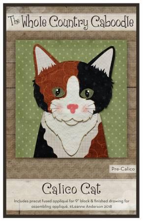 Calico Cat Precut Fused Applique Pack