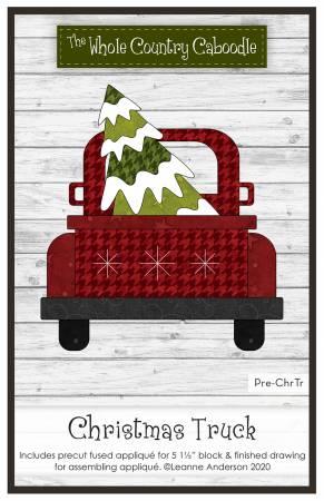 Christmas Truck Precut Fused Applique Pack