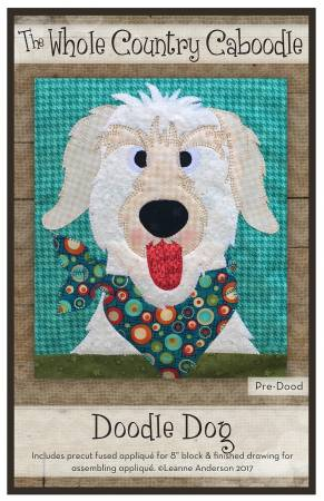 Doodle Dog Precut Fused Applique Pack