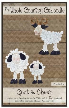 Goat & Sheep Precut Fused Applique Pack