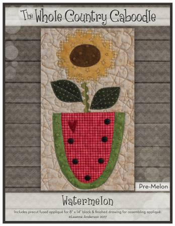 Watermelon Precut Fused Applique Pack