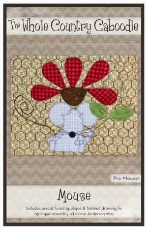 Mouse Precut Fused Applique Pack