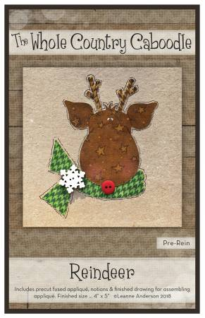 Reindeer Precut Fused Applique Pack