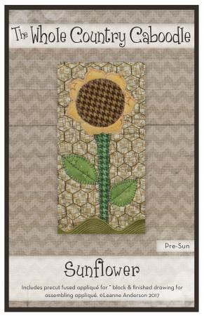 Sunflower Precut Fused Applique Pack