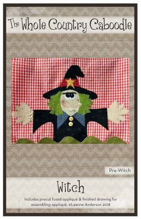 Witch Precut Fused Applique Pack