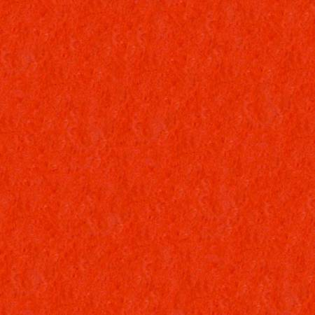 Wool Felt - Dark Orange