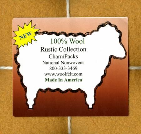 100% Wool Felt Rustic Charm Pack