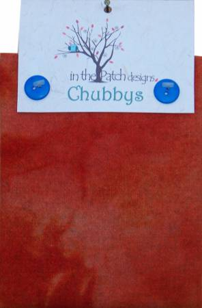 Wool Chubbys 16in Felted Square Deep Persimmon Heather Previously Item CH4730^