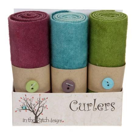 Wool Curlers 4in X 16in Rhapsody