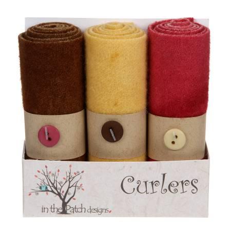 Wool Curlers 4in X 16in Trellis