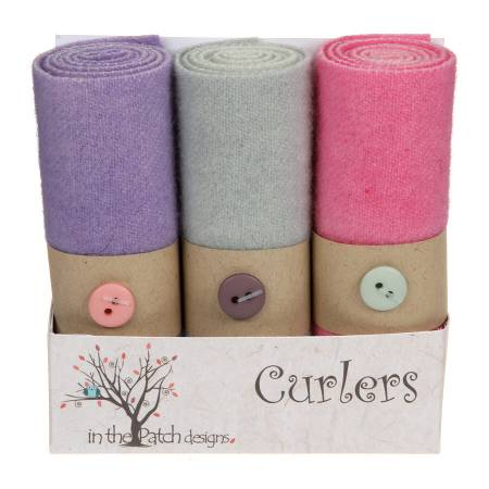 Wool Curlers 4in X 16in Spring