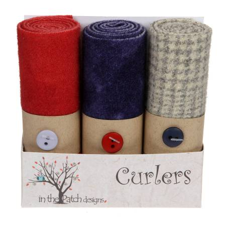 ITPD Wool Curlers 4in X 16in Violets
