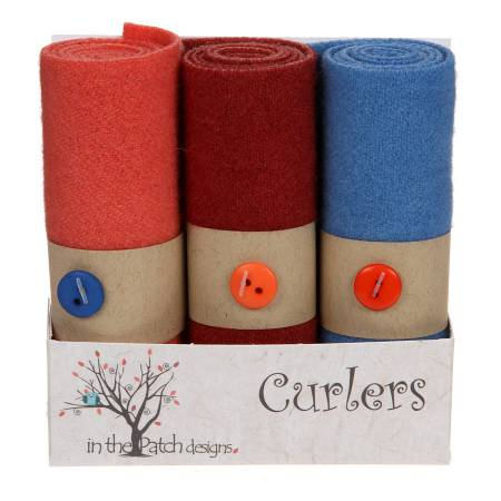 Wool Curlers Blossoms