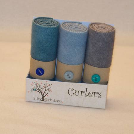 Wool Curlers 4in x 16in Ocean