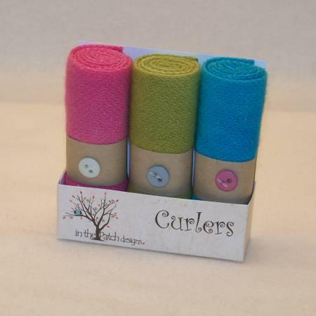 Wool Curlers Geranium