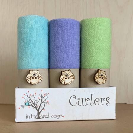 Wool Curlers 4 Spring Delights