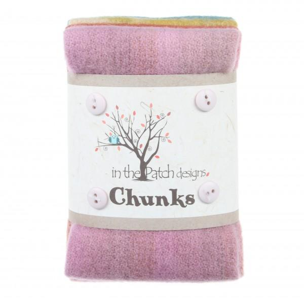 Cottage Wool Chunks 5pc 9in x 10in