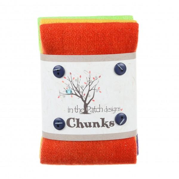 Twinkle Fall Wool Chunks 5pc 9in x 10in