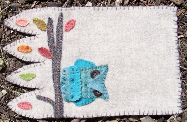 Owl Mug Rug Pattern  In the Patch Designs