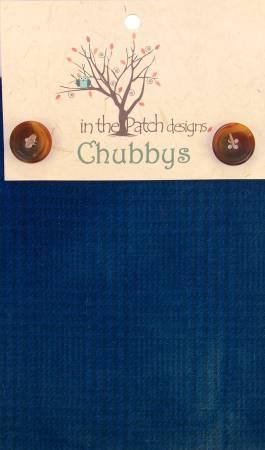 Wool Chubbys 16in Square Prairie Blue Plaid/Check  WCH6057P