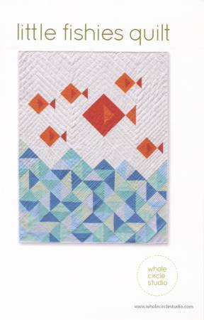 Little Fishies Quilt Pattern by Sheri Cifaldi-Morrill of Whole Circle Studio