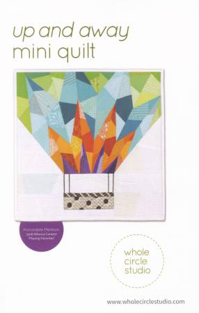 Up and Away Mini Quilt