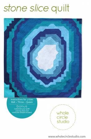 Stone Slice Quilt Pattern