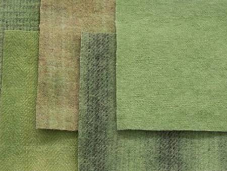 Corder Yard Hand Over Dyed Felted Wool Avocado Ivory