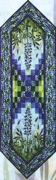 Field of Blue- Wildfire Designs - Tablerunner pattern- WDA1101 - 700465999092