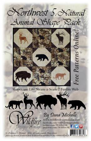 Northwest 5: Natural Animal Shape Pack