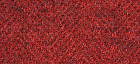 Wool Fat Quarter Herringbone Louisiana Hot Sauce 16in x 26in