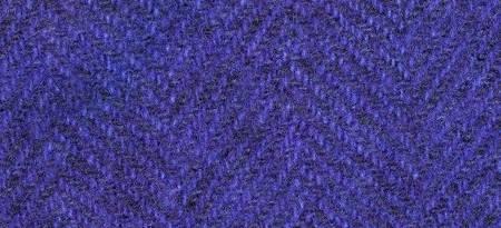 Wool Fat Quarter Herringbone Purple Rain 16in x 26in