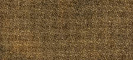Wool Fat Quarter Houndstooth Gingerbread 16in x 26in