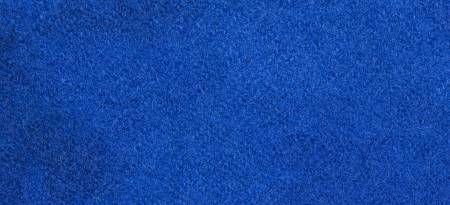 Wool Fat Quarter Solid Lapis 16in x 26in