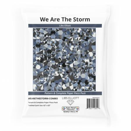 We Are The Storm Pattern and Complete Paper Piece Pack by Libs Elliott