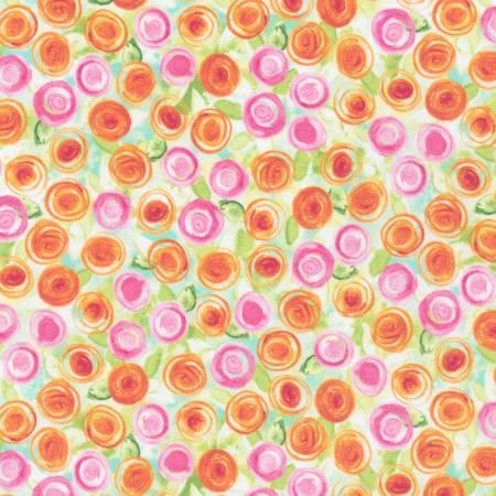 Primrose Circles-Natural Bloom