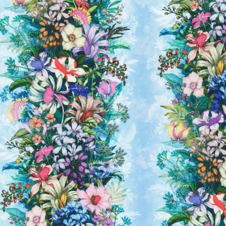 Wild Floral Stripe