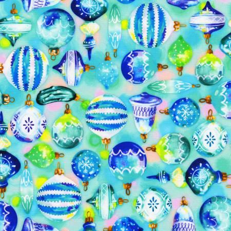 Ornaments Aqua Christmas