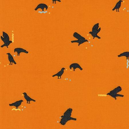 Crows Pumpkin Halloween w/Metallic