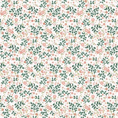 Goose Creek Garden Garden Mix White by Poppie Cotton