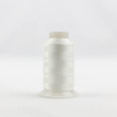 Invisafil 100# Soft Poly Thread - 104-White