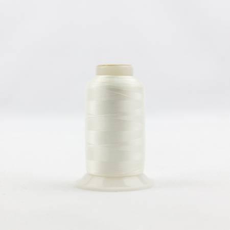 Invisafil 100# Soft Poly Thread - 105-Off White