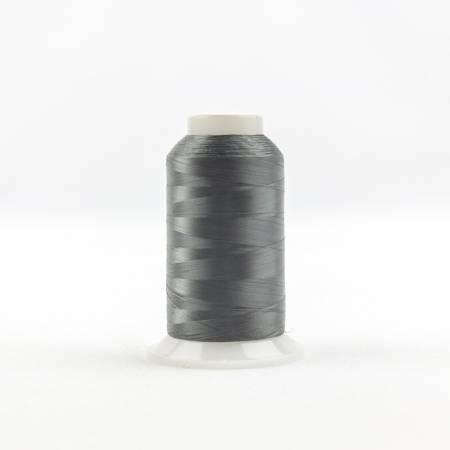 Invisafil 100# Soft Poly Thread - 122-Dark Gray