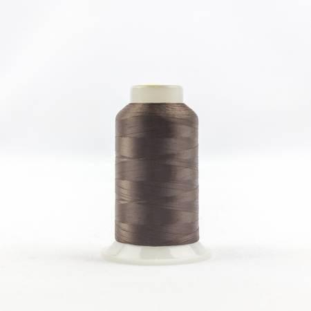 Invisafil 100# Soft Poly Thread - 401-Chestnut