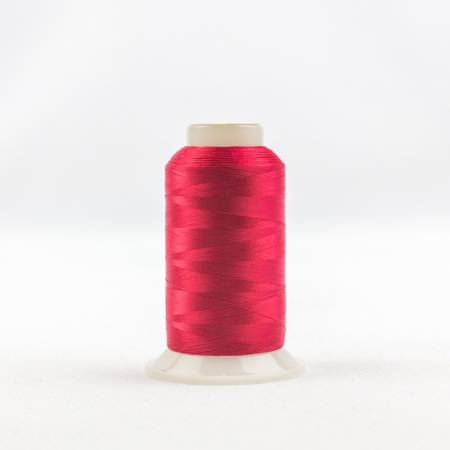 Invisafil 100# Soft Poly Thread - 605-Christmas Red