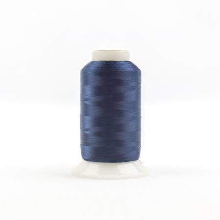 Invisafil 100# Soft Poly Thread - 608-Navy