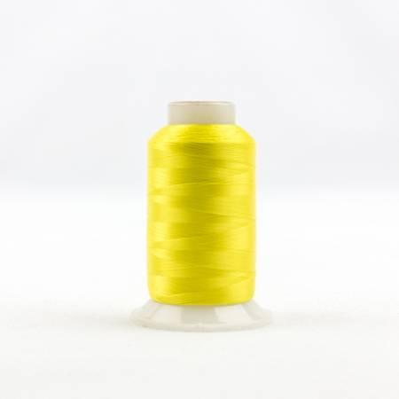 Invisafil 100# Soft Poly Thread - 701-Daffodil Yellow