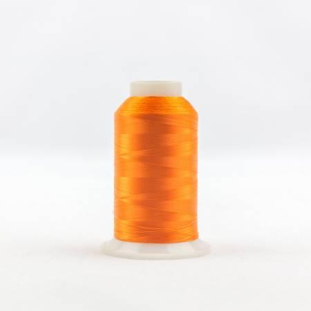 Invisafil 100# Soft Poly Thread - 711-Pure Orange