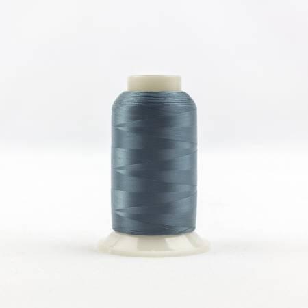 Invisafil 100# Soft Poly Thread - 724-Dusky Teal