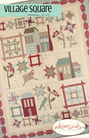 Village Square Pattern by Terri Degankolb
